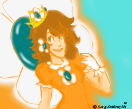 Princess Daisy ~ Did someone Missed me? by skyLoveness