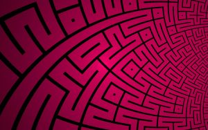 Truchet Maze by SuicideBySafetyPin