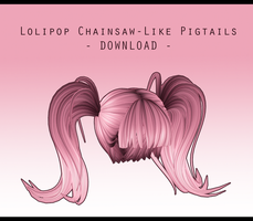 Lolipop Chainsaw-Like Pigtails [ DOWNLOAD ] by Aia-Aria