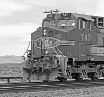 BNSF 747 Profile Shot by photogatlarge