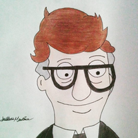 Mort the Mortician from Bob's Burgers by yahoo201027