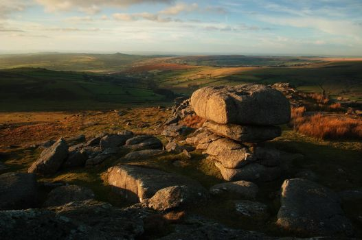 The Two Tors by TamarViewStudio