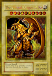 The Winged Dragon of Ra Gold Secret Rare by Yugi-Master