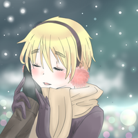 Aph - You're so warm.. by Mi-chan4649
