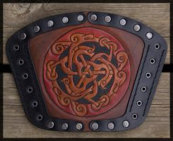 Dragons of the North Bracer by Wodenswolf