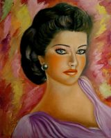 oil portrait 2 by rula2014