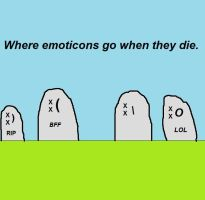Where Emoticons Go by sgoheen06