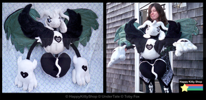 HyperDeath Asriel Plush by QueenBeePlush