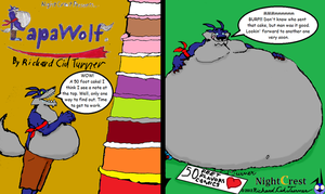 Papawolf comic 50 by NightCrestComics