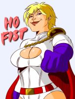Power Girl HO FIST by MegaSweet