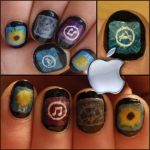 apple apps  nails 2 by Ninails