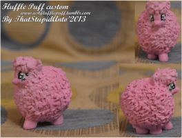 Fluffle Puff blind bag custom by Antych