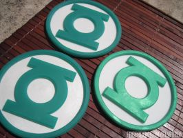 Green lantern discs! by fevereon