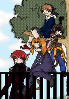 Weiss Kreuz Kittens - Colored by Vespi