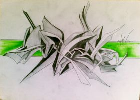 3d abstract by SCjalil