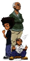 The Boondocks by Strie