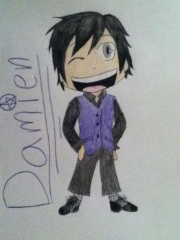 Damien by YukiBlueWho