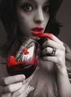 Blood On My Lips by Reilune
