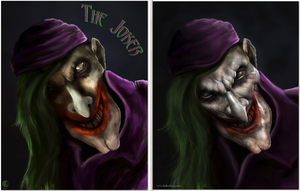 Joker Stylized Concept to 3D by lberry1976