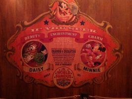 Pete's Silly Sideshow - Minnie + Daisy's Sign by SantosPhillipCarlo