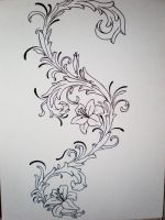 Filigree Tat Design by Kaly89