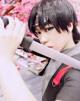 Naruto Shippuden: Sai (Cosplay) 2 by i-Arvie-i