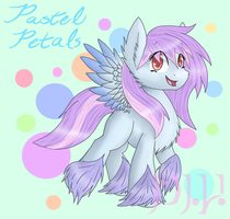Pastel Petals (Commission) by KittyDragon619