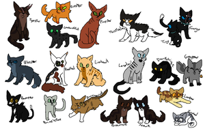 Tigerstar MAP designs by Meepalso