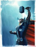 Wizard 205 Thor Cover by mikemayhew