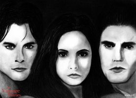 the Vampire Diaries by intelinside91