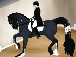 Beauty Dressage by Baylili00