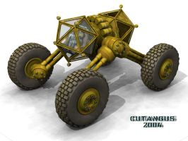 EXPLORATION VEHICLE CONCEPT II by CUTANGUS