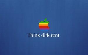 Apple Think Different WP by mikevickrocks