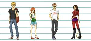 Mah Mortal instruments Peeps by foreverfreefalling