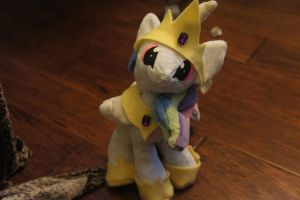 Celestia Plush COMMISSION by LordBoop