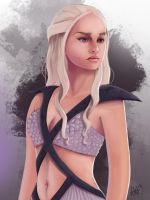 Daenerys Targaryen by Lushies-Art