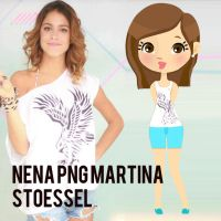 +Nena Martina Stoessel PNG zip. by GuadiiDesings