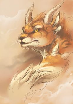 Female charr by OutOfKitchen