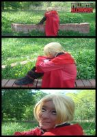 Edward Elric (FMA) cosplay by yvelise