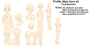 profile male base 1 by TeamNarutox
