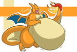 -Charizard- by Puffed-Up