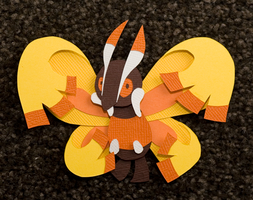 Mothim by PlaidCushion