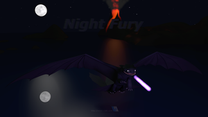 Night Fury - Night Flight by V3DT