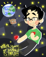 Mark's the brightest STAR! by Monodes
