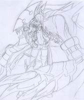 Fia Magfrit Rough Sketch by Xenosnake