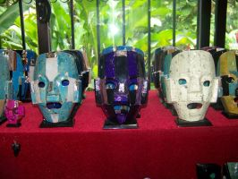 masks 1 by bipolargenius