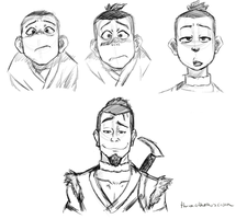 Sokka Sketches 6/22 by themathemusician