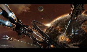 Planetary Attack by Clauthor