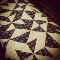 Quilting on a Saturday Afternoon by LINBUR0100