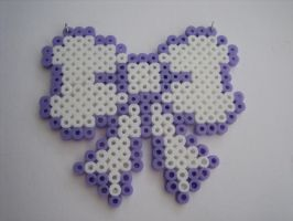 Hama Bead Bow by Elmotjuuh